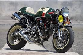 cafe racer caf racers moto verso