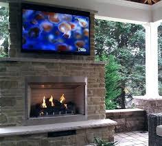 hanging outdoor fireplace metal