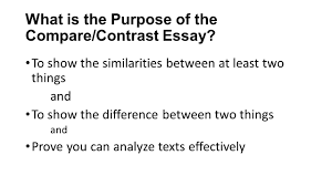 "compare and contrast essay blake s ""chimney sweeper"" poems  what is the purpose of the compare contrast essay"