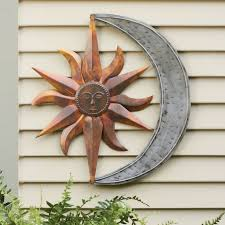 outdoor artwork outdoor wall hangings outside metal wall art metal sun wall art kitchen metal wall