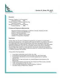 Civil Engineer Resume Cover Letter