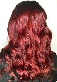 Light Red Hair Color Charts Light Auburn Hair Color