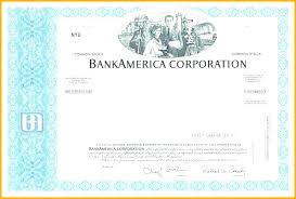 download stock certificate template corporate share certificate template