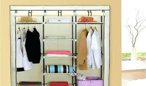 full size of outstanding cloth closet organizer fabric hanging storage canvas best wardrobe c bedrooms cotton