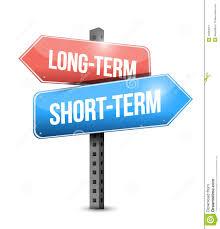 long term goals clipart  long term short