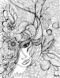 Small Picture Blank Coloring Pages For Adults FunyColoring