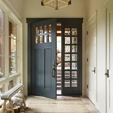 customized solid wood exterior door