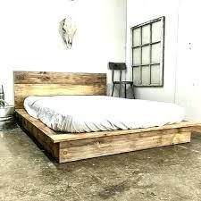 Marvellous Flat Platform Beds Bed Frame King Flatbed Steel Trolley ...