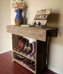 how to build pallet shoe rack furniture