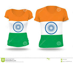 Indian Flag T Shirts Design Flag Shirt Design Of India Stock Vector Illustration Of