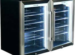 glass front mini fridge home depot refrigerator mini with glass door fridge home security ideas diy