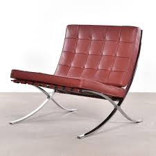 Barcelona Chair By Ludwig Mies Van Der Rohe For Knoll For Sale At