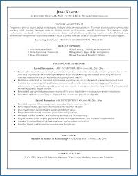 Accounting Resume Examples Lovely Bookkeeper Job Description For
