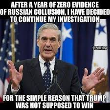 Image result for Could It Possibly Be True That The Mueller Investigation Was Never Really About Russian Collusion At All?