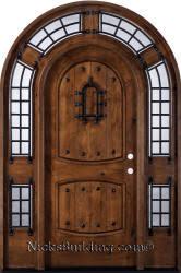 arched front doorArched Doors  Round  Radius Top Doors