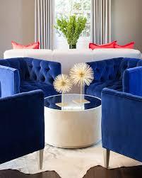 royal blue chairs
