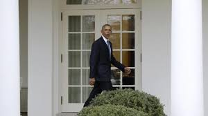 obamas oval office. President Barack Obama Walks From The Oval Office Of White House In Washington. ( Obamas