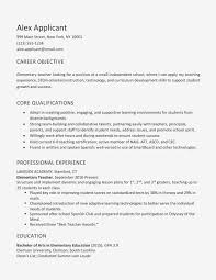 resume for undergraduate objective examples and writing sample career engineering
