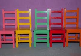 bright coloured furniture. pop art bright coloured furniture