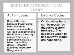 media narrative codes 6