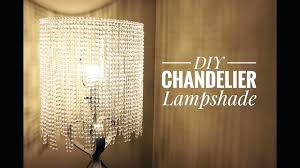 how to make a chandelier lamp an easy way for you to make a beautiful chandelier