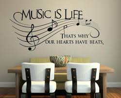 ... Wall Decals Bedroom Music Is Life Wall Decal Bedroom Wall Decals  Stickers Art Decor Music Is ...