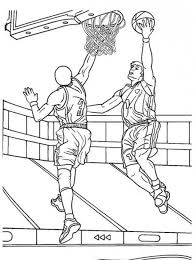 Basketball Game Coloring Pages For Adults Color Me Wonderful
