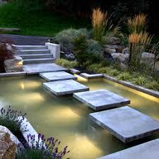 floating concrete house river home sanctuary water feature patio features e44