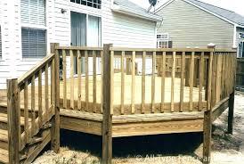diy deck railing
