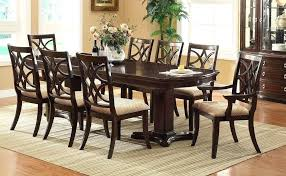 formal dining room table sets elegant formal dining room sets for 8 with long table round