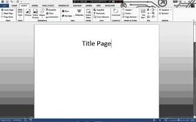 Formatting Page Numbers For Turabian 8th Ed Using Microsoft Word 2010 2013