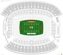 Cleveland Browns Stadium Seating Chart View Cleveland Browns Seating Guide First Energy Stadium