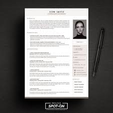 Designer Resume Templates Enchanting A Lasting Impression ResumeCV Design Template Free Cover Letter