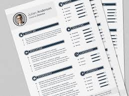 Smart Resume Impressive The Smart CV Resume Full Set Template By Daniel E Graves Dribbble