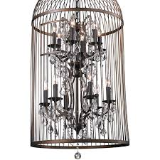 home wedding decor als als large birdcage crystal chandelier