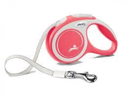 <b>Flexi</b> - Walk - <b>DogFlexi New Comfort</b> XS (<b>tape</b> 3m) red - Vadigran