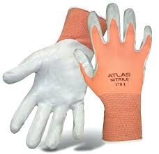 atlas gardening gloves atlas las nylon knit palm gardening atlas garden gloves small atlas gardening gloves