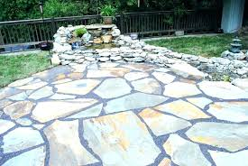 patio stone fire pit ideas outdoor how to make a making installing stones under