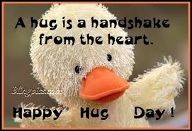 happy hug day for friends. Beautiful Day A Hug Is Handshake From The Heart Happy Day Card Throughout For Friends Y