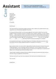 Aged Care Cover Letter All About Letter Examples
