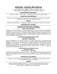 Resume Spanish Free Resume Example And Writing Download