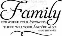 Family Quotes Christian Best Of Religious Wall Quotes Wall Decals Words Your Treasure