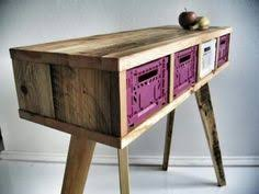 produktwerft is a brand new furniture manufacturer they make furniture out of reclaimed wood taken from industry pallets the objects are designed by