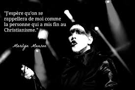 Top 10 Des Citations Inspirantes De Marilyn Manson Topito