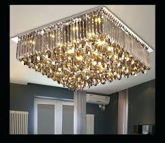 ceiling mount chandelier new arrival led crystal ceiling lamp modern square and round pertaining to new