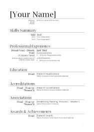 Free Simple Resume Builder This Is Free Simple Resume Builder