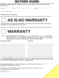 Bill Of Sale Contract Template Template Warranty Template 15