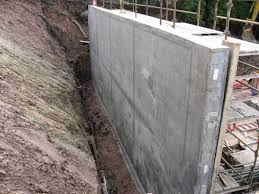 poured concrete retaining wall design concrete retaining walls throughout proportions 1024 x 768