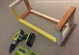 Easy DIY sofa tables Heathers Handmade Life