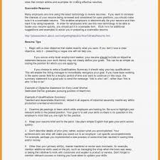 Objective For High School Resumes Do I Include High School On Resume Graduate School Resume